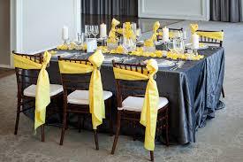 modern yellow & slate wedding inspiration every last detail Wedding Decorations Yellow And Gray modern yellow & slate wedding inspiration via theeld com wedding decorations yellow and gray