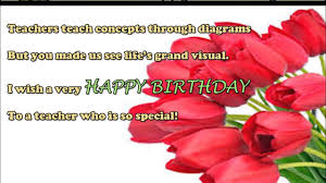Teacher Message Happy Birthday Wishes To Teacher Birthday Sms Quotes Message Greetings To Teacher