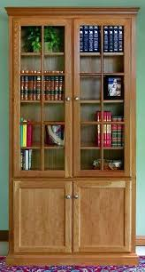 glass door bookcases all you needed to know about choosing a bookcase with doors antiques