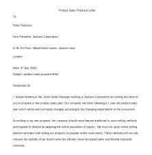 Letter Of Proposal Sample Proposal Letter For Business Services