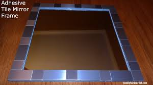 bathroom mirror frame tile. Perfect Tile Tile Mirror Frame Intended Bathroom