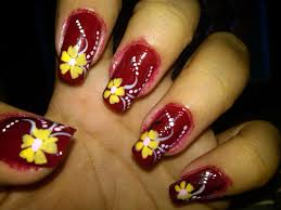 Nail Designs of Flowers