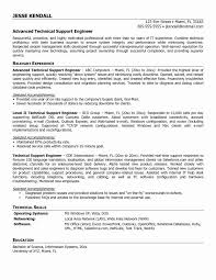 Technical Proficiency Resumes Resume Format For Technical Support Engineer Best Resume Template