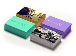 32pt Thick Color Edge Business Cards Business Cards