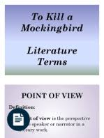 to kill a mockingbird character development essay to kill a  literature terms power point