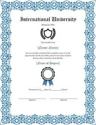 university degree certificate sample 11 free printable degree certificates templates