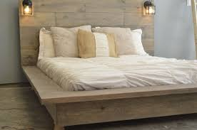diy king bed frame. Quilmes Floating Rustic Wood Platform Bedframe By KnotsandBiscuits, $965.00 · Custom Bed FrameDiy King Diy Frame
