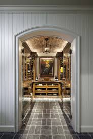 Douglas VanderHorn Architects | French Eclectic Style | Wine Cellar