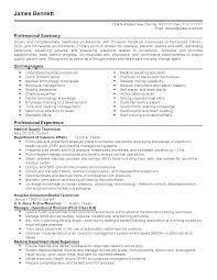 Resume Templates: Military Healthcare Administrator