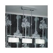 endon clef bar 3ch 3 light telescopic bar pendant ceiling light lighting from the home lighting centre uk