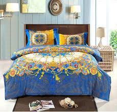 boho bed comforters bohemian bed comforter bohemian bed quilts bohemian bedding set thicken cotton brushed comforter
