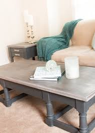 french linen coffee table annie sloan chalk paint pennies and