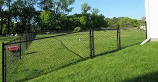 Black vinyl fence Privacy Slat Black Vinyl Chain Link Fence With Angle Gate Illusions Vinyl Fence Vinyl Fencing Privacy Fence Pool Fencing Fence Company Mn