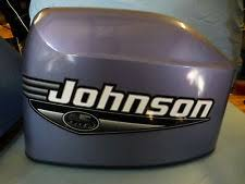 johnson outboard motors new johnson outboard motor hood 25 35hp commercial manual cover 5001180 gray