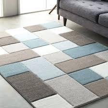 teal brown area rug photo 4 of 5 street modern geometric carved teal brown area rug teal brown area rug