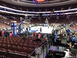 Wells Fargo Center Section 122 Philadelphia 76ers