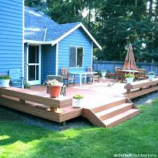 Backyard Deck Design Ideas Mesmerizing Back Yard Decks Backyard Decks And Patio Under Deck Ideas Designs