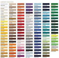 Printable Brother Thread Color Chart Www Bedowntowndaytona Com