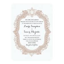 Mehndi Wedding Invitations Zazzle