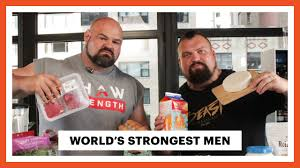 World S Strongest Man Diet Chart Everything The Worlds Strongest Men Eat In A Day Eat Like Mens Health