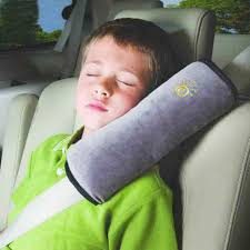 soft car child safety strap cover harness pillow shoulder seat belt pad cushion
