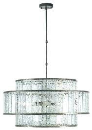 rectangular shade chandelier large drum lamp big lighting white