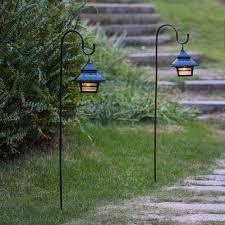 How To Hang Lights In Gazebo Garden Hanging Lanterns Naturally Solar Gazebo Light Home