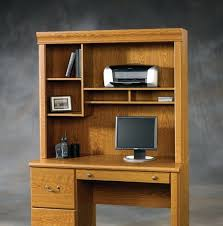 sauder orchard hills computer desk with hutch harbor view black pertaining to decorations 4