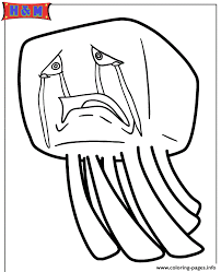 Small Picture ghast from minecraft video game Coloring pages Printable