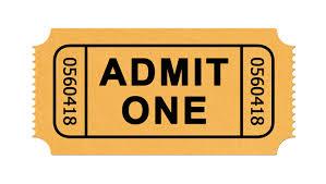 Image Of Ticket Stub Under Fontanacountryinn Com