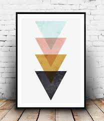 arrow photo printing wall art sample amaznig black colorful cream brown pink blue white wallpaper