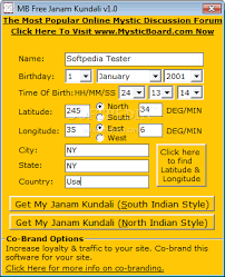 Janam Kundali In Telugu