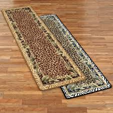 safavieh tibetan leopard brown area rug round giraffe print large animal rugs jungle safari runner size