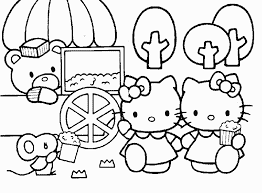 The hello kitty printables and coloring pages below have great illustrations for every letter. Hello Kitty Coloring Pages Buy Popcorn Coloring4free Coloring4free Com