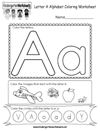 Our collection includes kindergarten worksheets, phonics, alphabet, all organized by subject. Free Kindergarten Alphabet Worksheets Learning The Basics