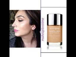 healthyskinliquidmakeup2 my take neutrogena healthy skin liquid foundation review