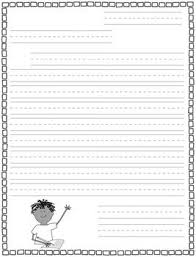 Primary Letter Writing Paper Primary Letter Writing Paper Freebie Teacherspayteachers