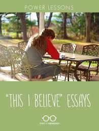 essay beliefs essay