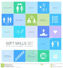 soft skills stock photos images pictures images soft skills icons set stock photos