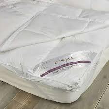 mattress topper. Dorma Hungarian Goose Down Dual Layer Mattress Topper
