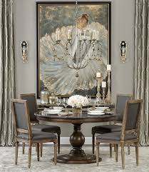 dining table lovely art and furniture curtains blend