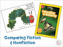 Fiction Vs Nonfiction Venn Diagram Fiction Vs Nonfiction Anchor Chart Beautiful Fiction Vs