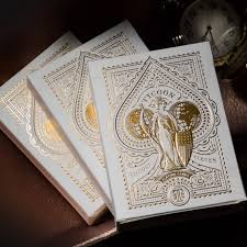 Tycoon Ivory Playing Card <b>Deck</b> by Theory 11 Collectible Cardistry ...