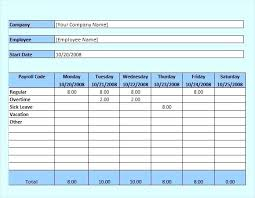 Sample Payroll Timesheet Enchanting Excel Timecard Template Sample Employee Monthly Timesheet Spitznas