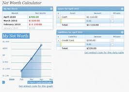 Net Worth Calculator Net Worth Plugin Calculator For Wordpress Free Download