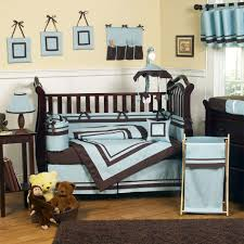 Heavenly Brown And Blue Baby Nursery Room Design Ideas : Beautiful Ideas  For Brown And Blue