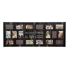multiple picture frames family. Multiple Image 18 Opening Family Collage Frame - Gallery Solutions Picture Frames