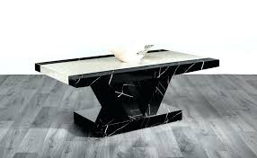 high gloss coffee table black marble effect high gloss coffee table black brown white and decor
