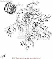 Yamaha dt125 usa starter generator schematic partsfiche wiring