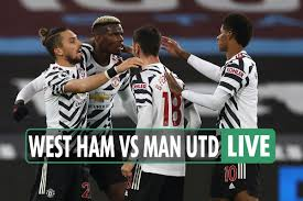 Michail antonio 45 +2′ (pen). West Ham 1 Man Utd 3 Live Reaction Pogba Greenwood And Rashford Spark Stunning United Comeback Result